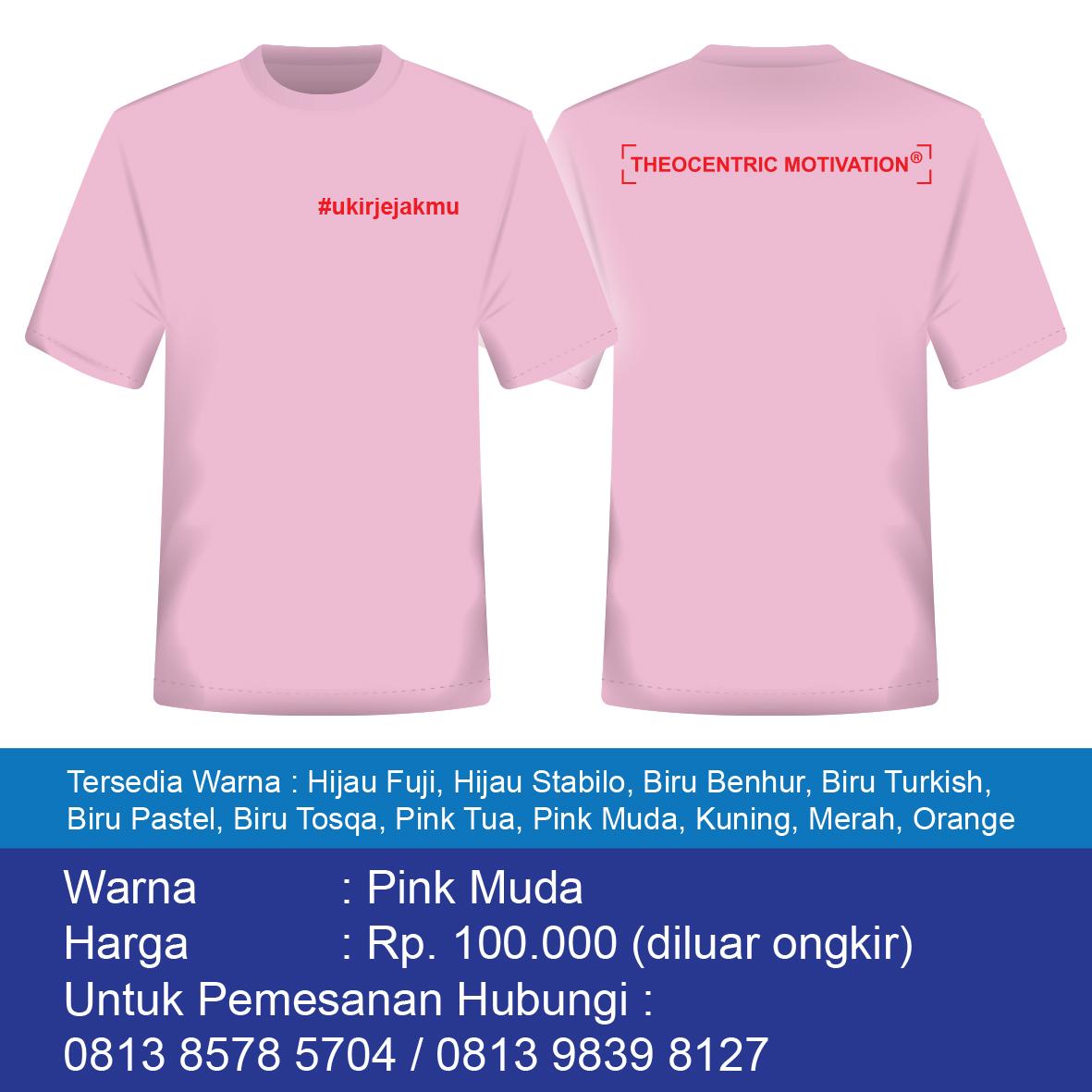 Ukir Jejakmu-Pink Muda